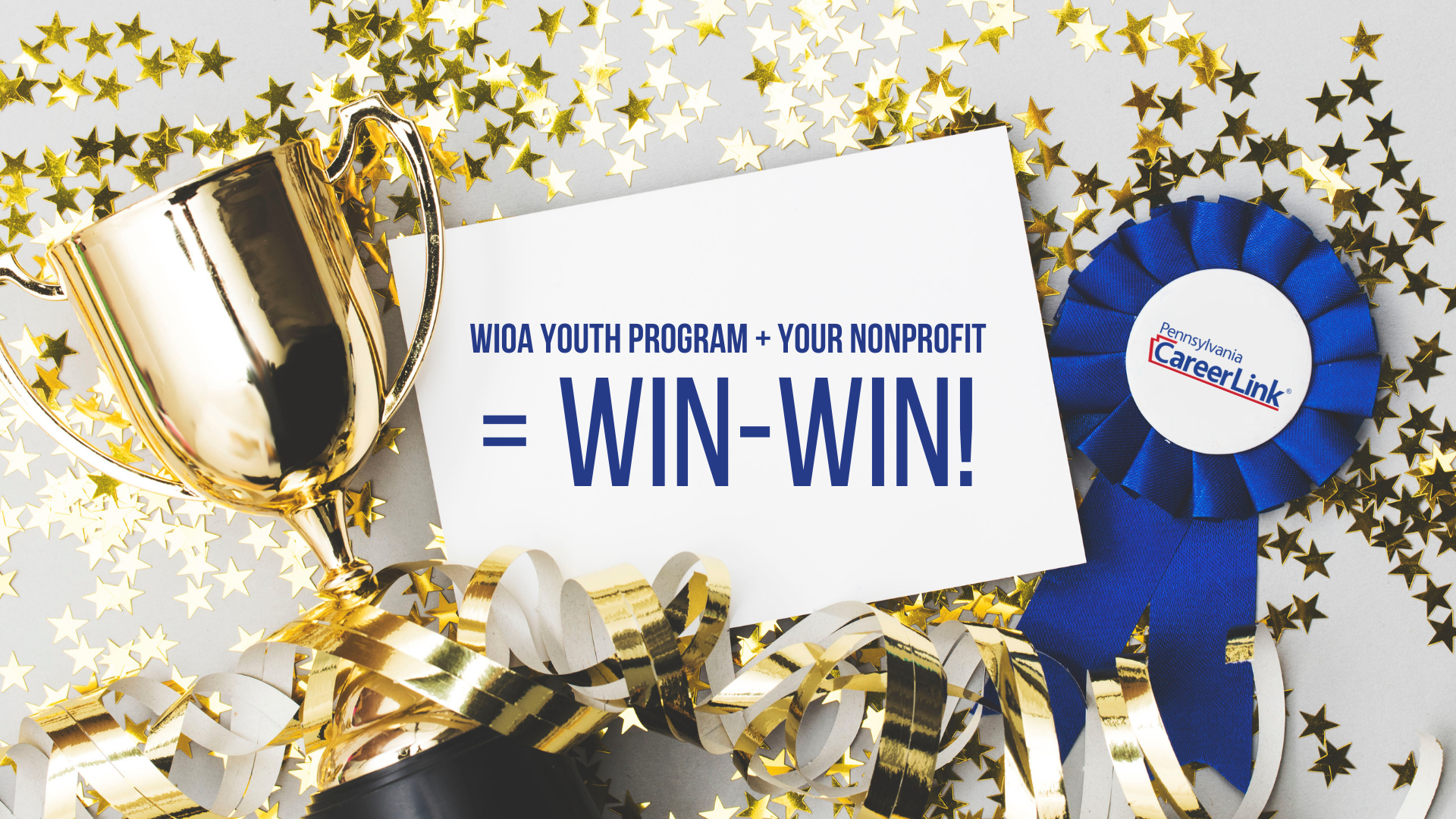 [Zoom Meeting] WIOA Youth Program + Your Nonprofit = Win-Win!