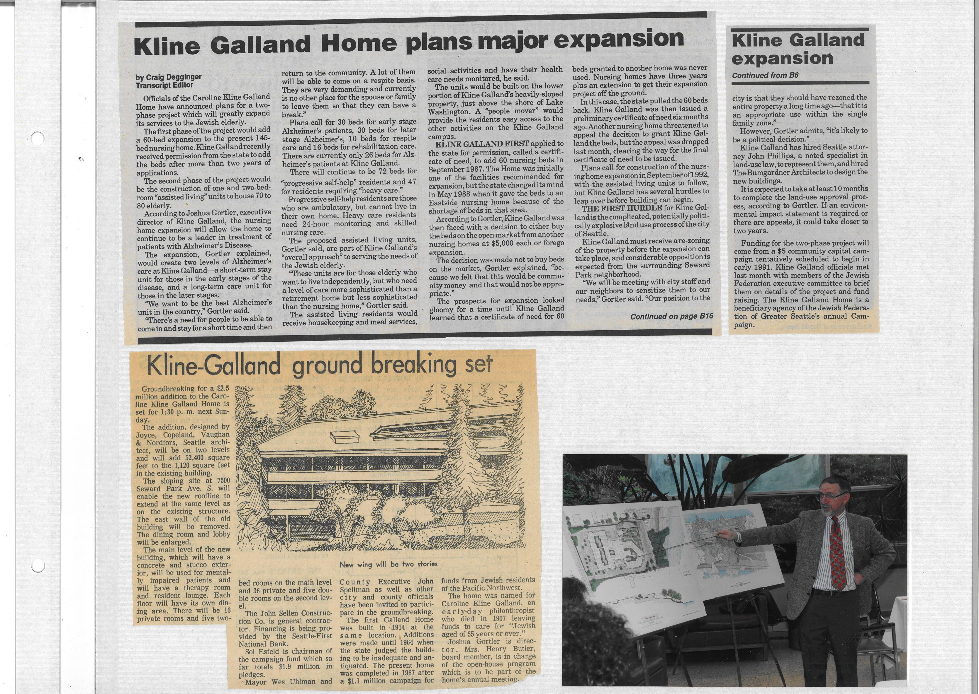 Kline Galland plans major expansion