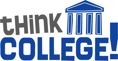 A link to a website containing information on college called think-college.