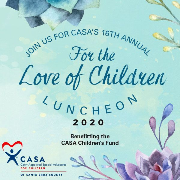 "Join us at the ""For the Love of Children Luncheon"" on February 19"