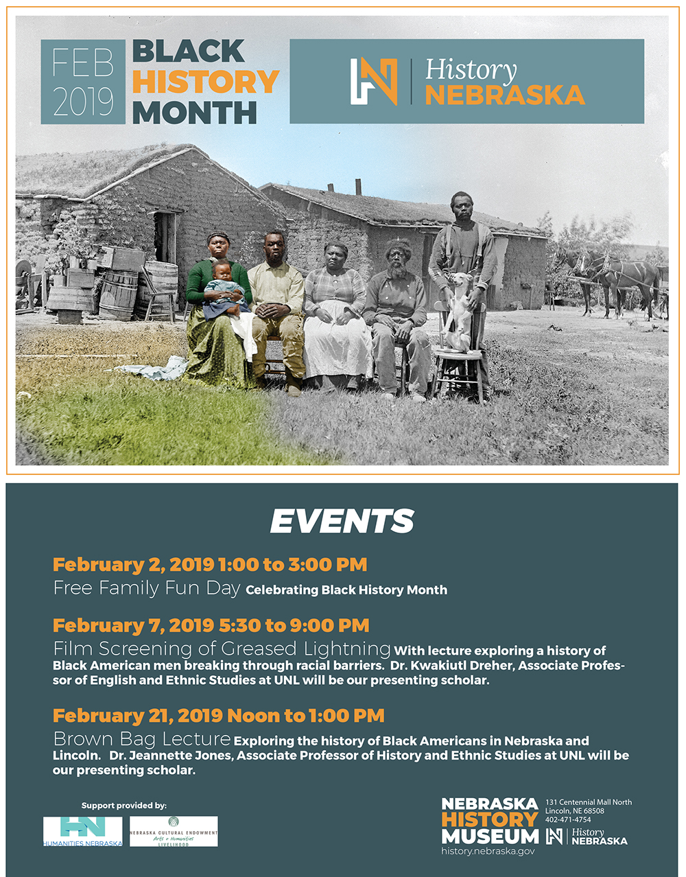 Black History Month at the Nebraska History Museum