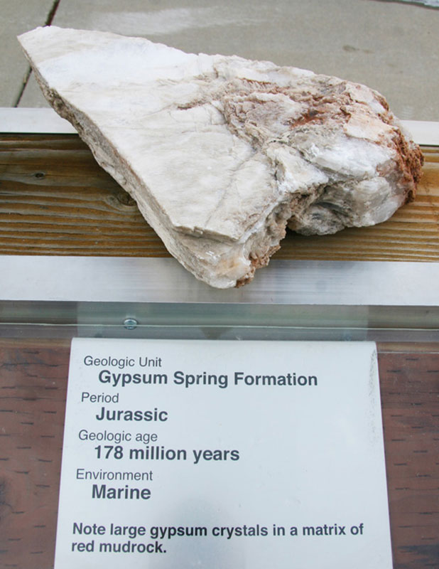 Gypsum Spring Formation - Jurassic