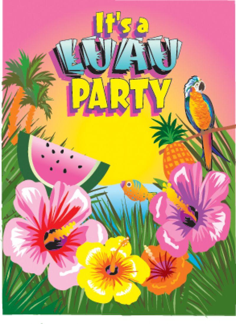 Favarh Luau Dance Party