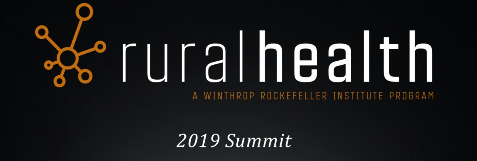 2020 Rural Health Summit, Winthrop Rockefeller Institute (by invitation only)