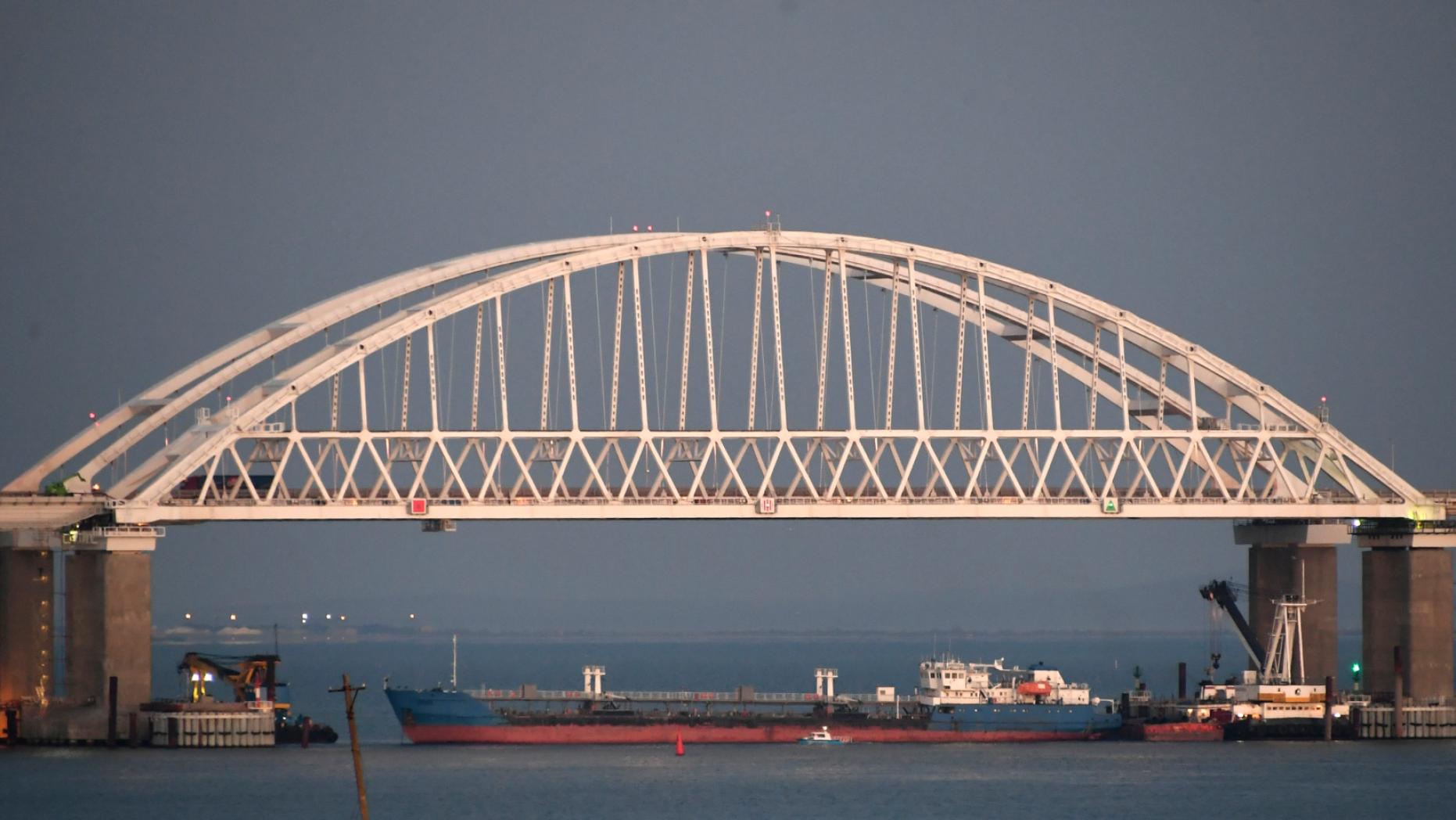Ukraine seizes Russian tanker involved in November conflict