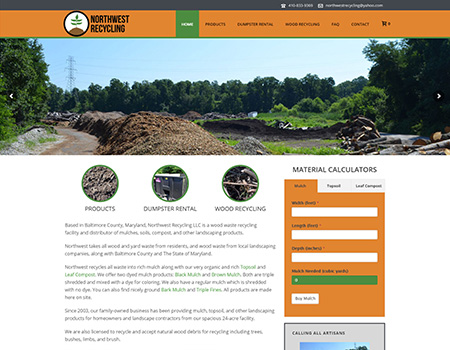 Northwest Recycling: Web Development
