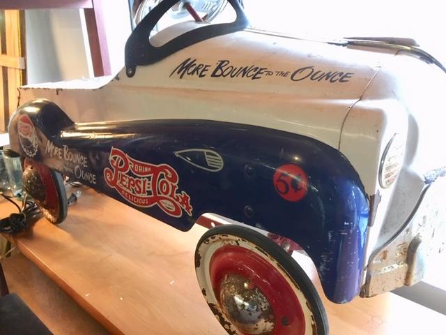 Pepsi Pedal Car