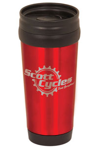 14oz Colored Travel Mug w/ No Handle