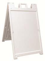 Signacade White A-Frame  $120.00