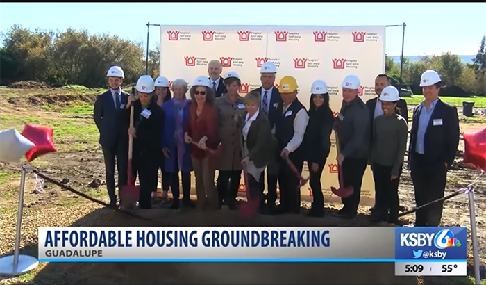 Groundbreaking for new affordable housing for ag workers in Guadalupe
