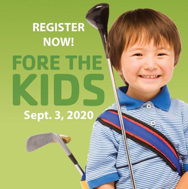 Register for the FORE the Kids Golf Outing