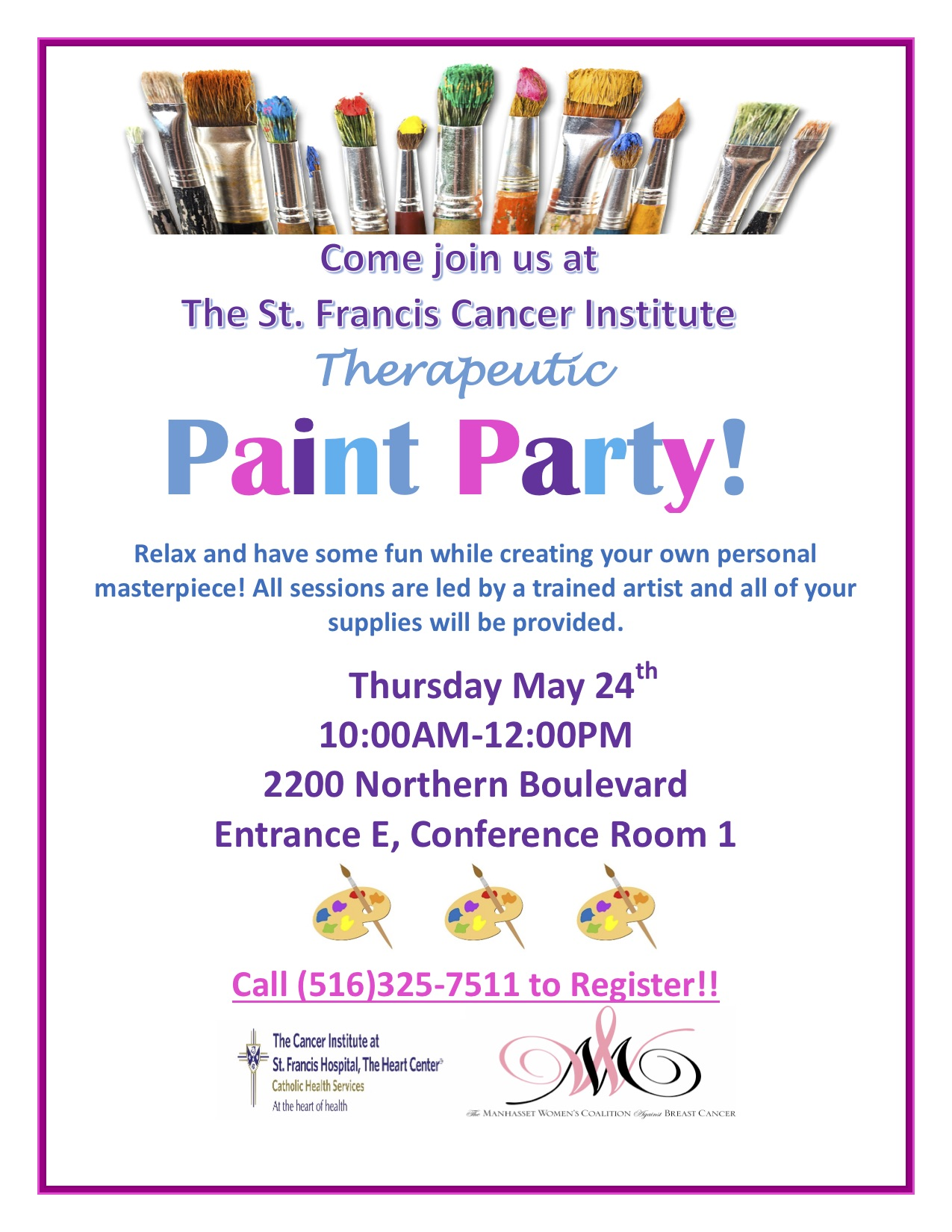 Therapeutic Paint Party