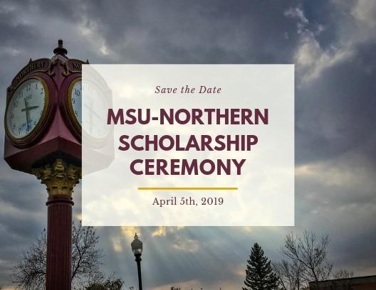 MSU-Northern Scholarship Ceremony