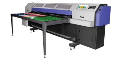 Service Printing Installs a new Flora Hybrid Printer