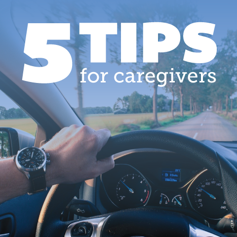 5 Tips for Driving with Dementia