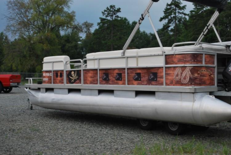 Graphics For Pontoon Boat Vinyl Wrap Graphics Wwwgraphicsbuzzcom - Vinyl decals for pontoon boats