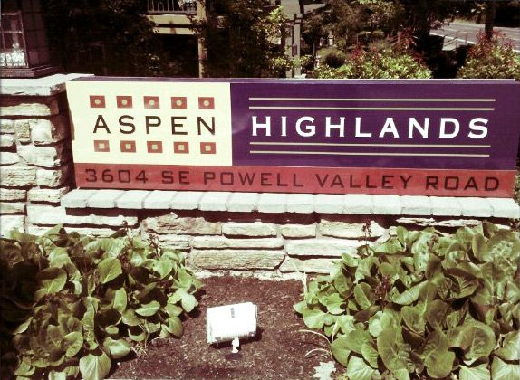 Aspen HIghlands Monument Sign