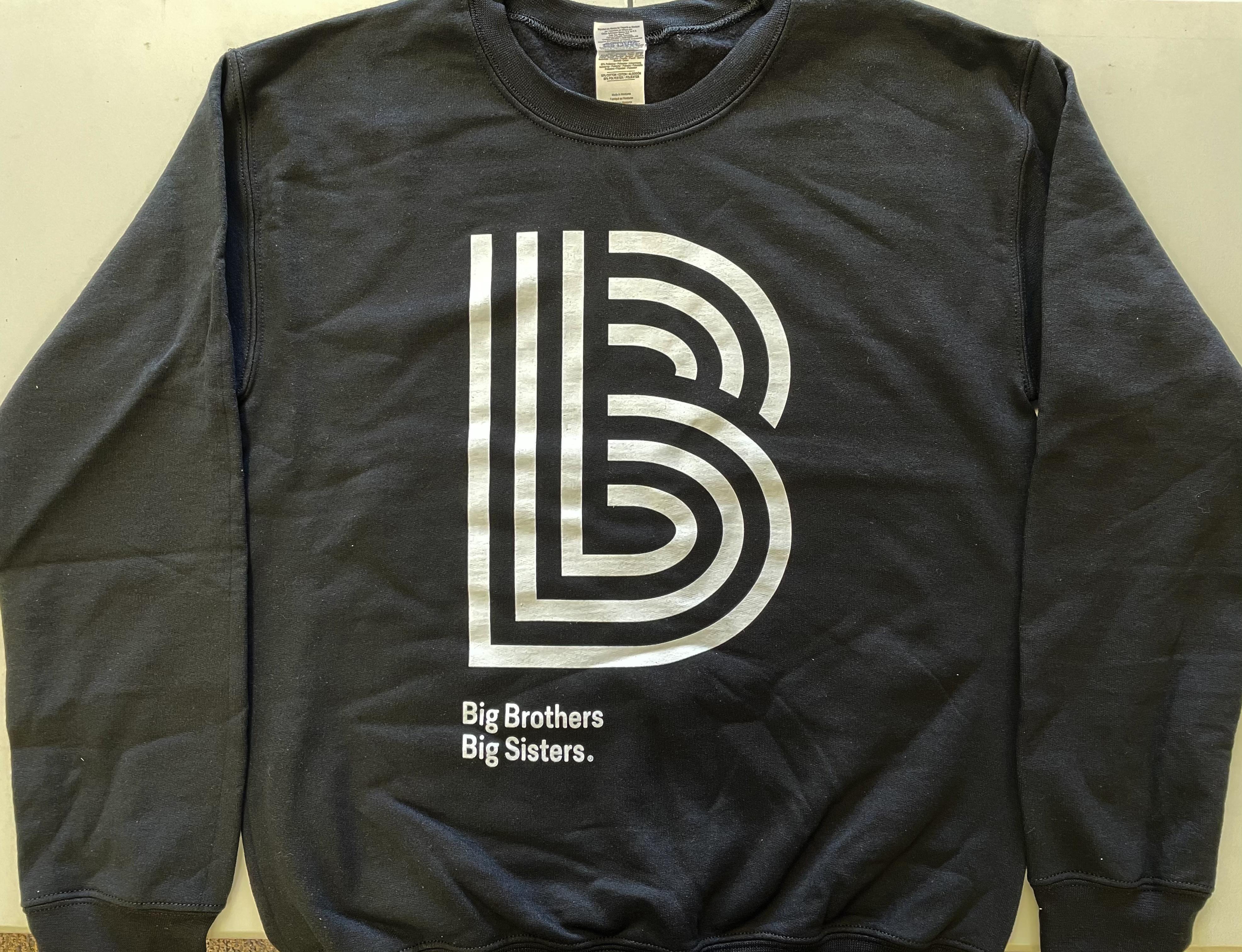 Black Adult Crewneck Sweatshirt (LARGE)