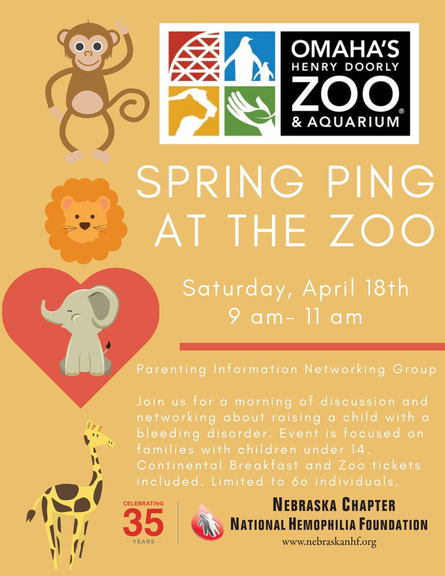 Spring PING at the Zoo
