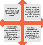 Haircare Tip Sheet for Black Foster Youth (for Providers)