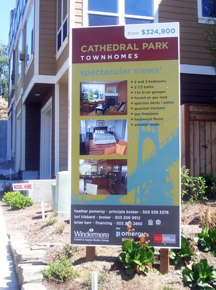 Cathedral Park Site Sign