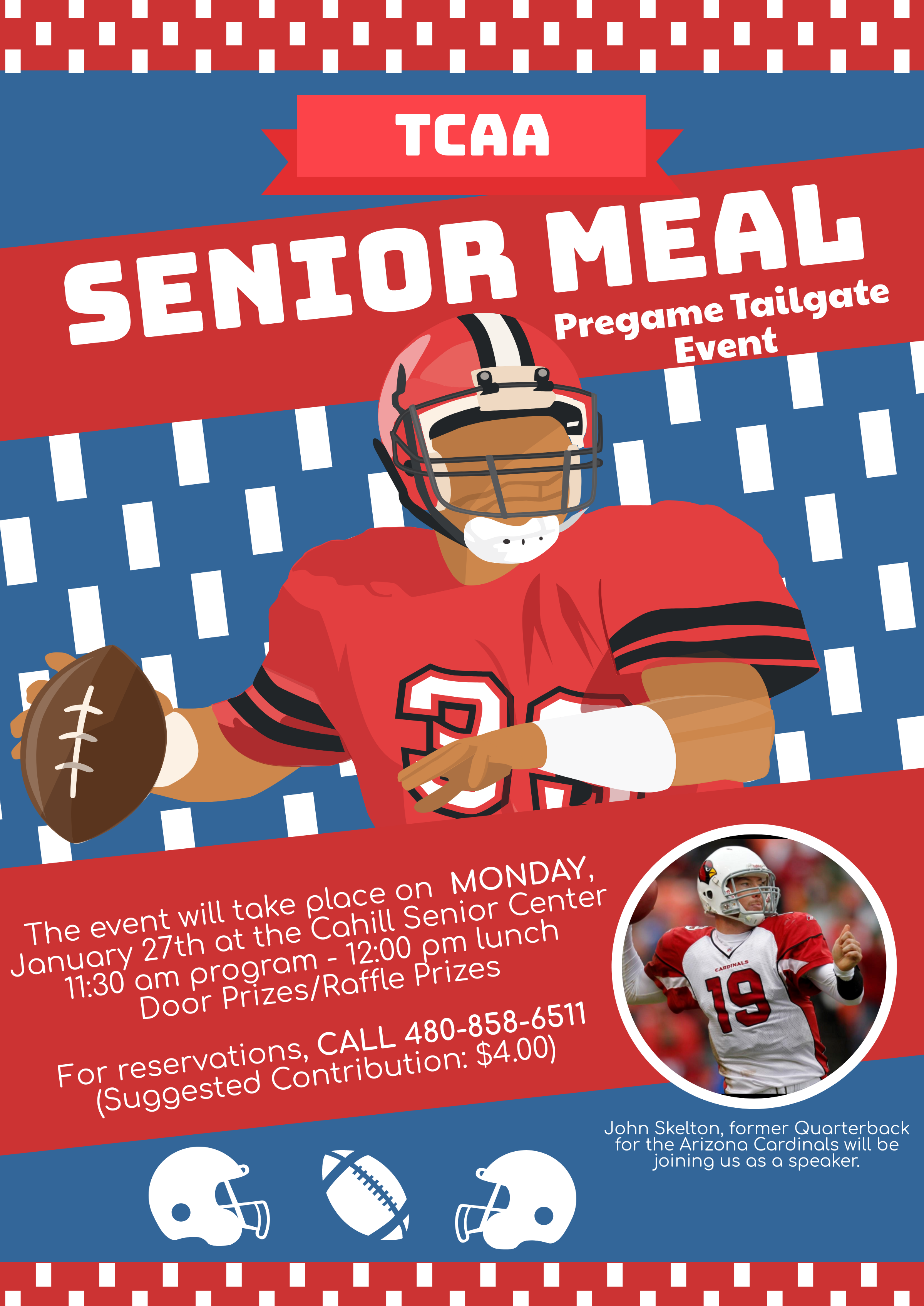 Food and Football Senior Lunch @ Cahill