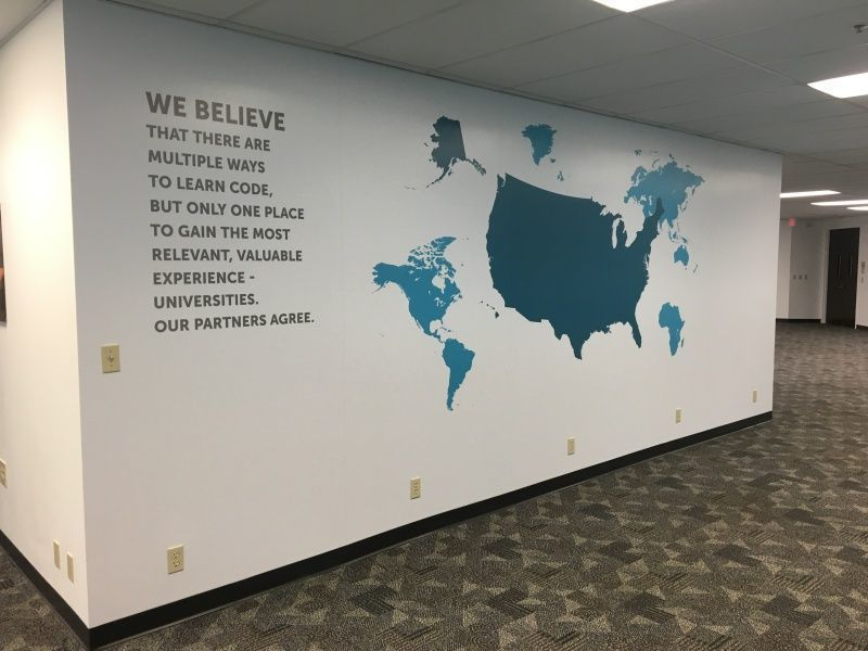 Partial Wall Graphics