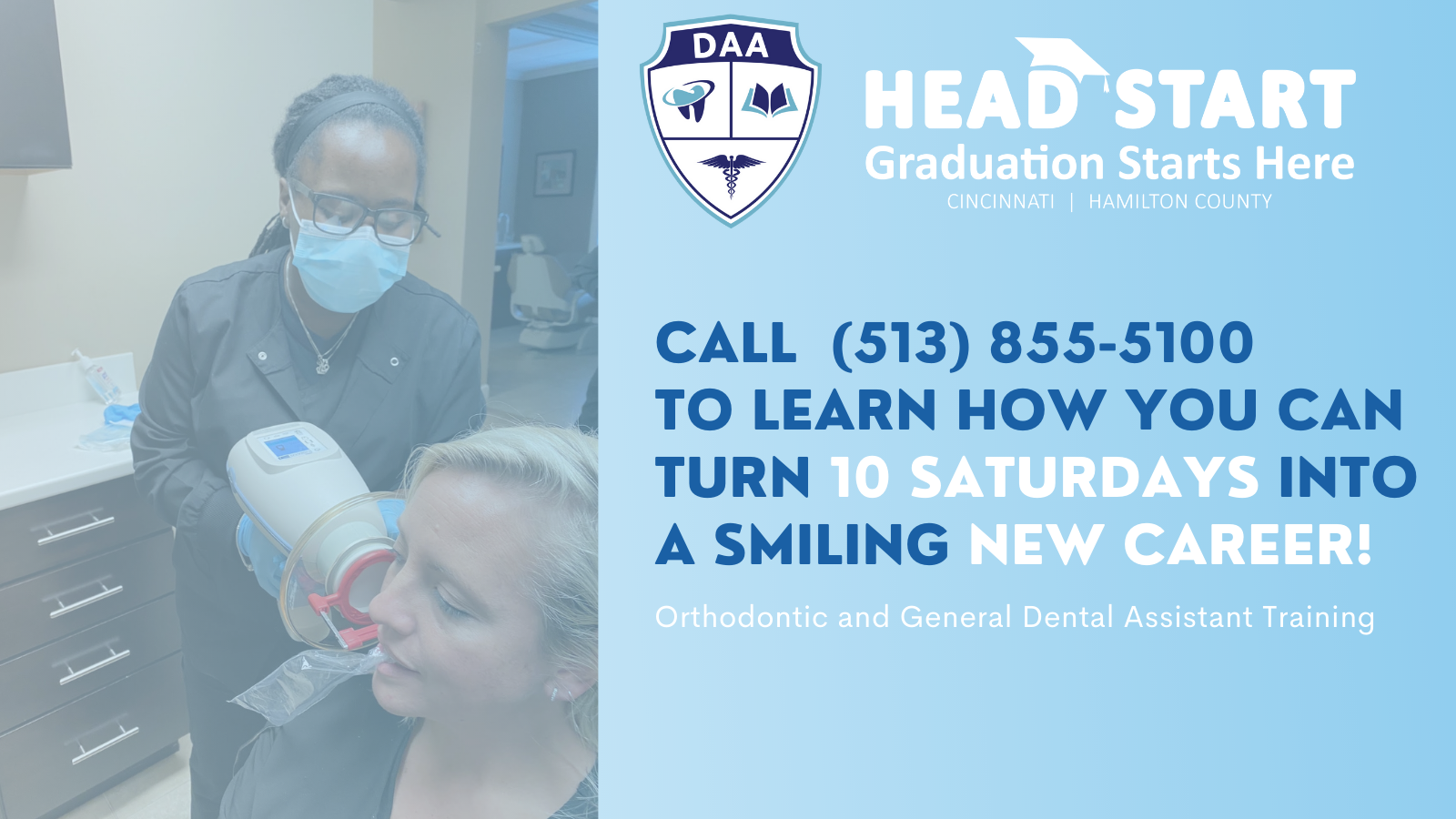 There's a lot to smile about in a new career training program that offers board certified dental assistant training in just 10 weeks.