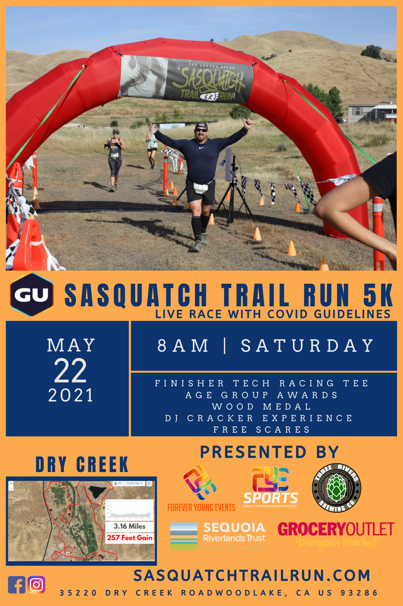 Sasquatch Trail Run - 5K Race
