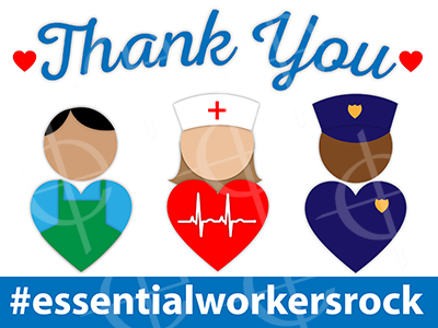001 Thank You - Essential Workers