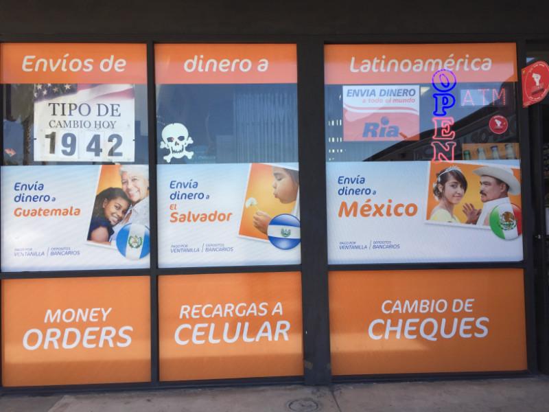 Storefront Perforated Window Graphics Pomona CA