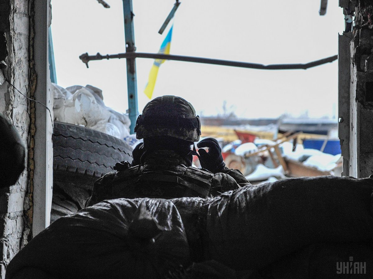 Escalation in Donbas: 38 attacks on Ukraine troops, 1 KIA, 4 WIA's in last day.