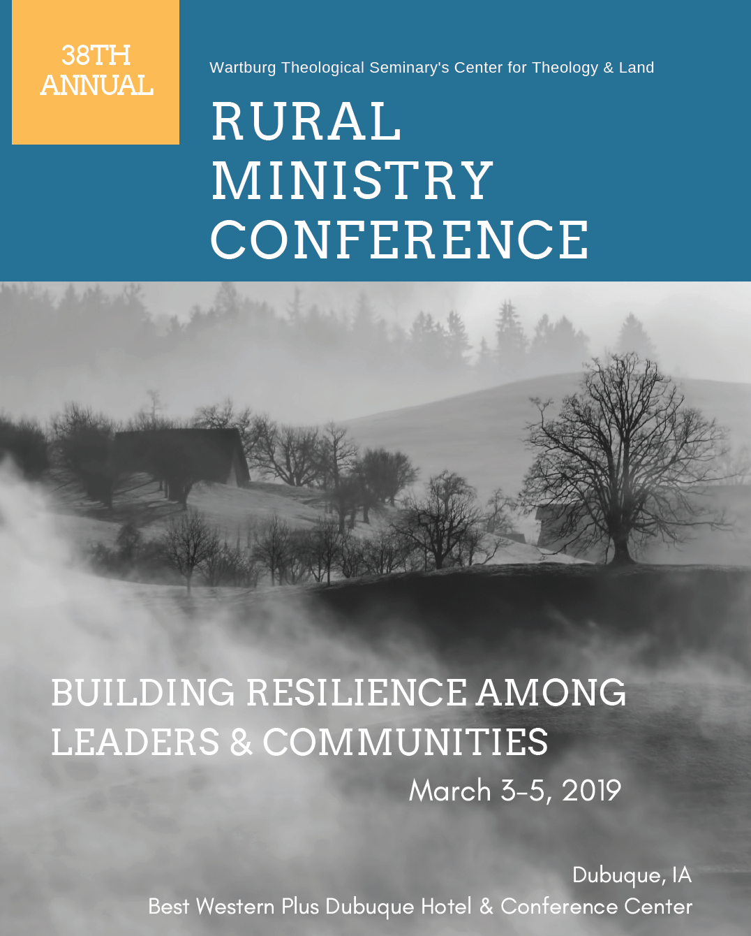 38th annual Small Town and Rural Ministry Conference