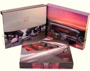 Audi Press Kit Box