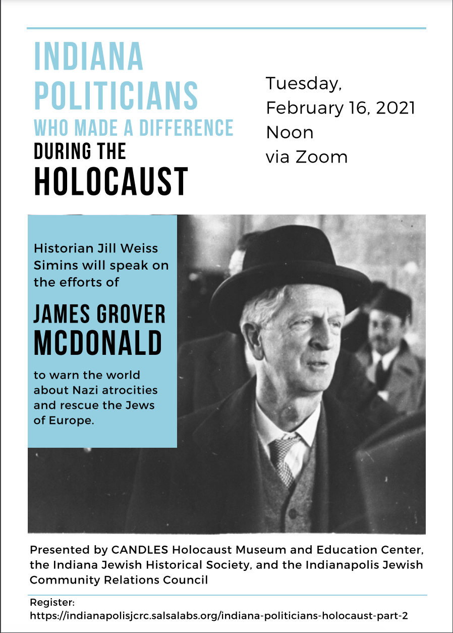 Indiana Politicians Who Made a Difference During the Holocaust