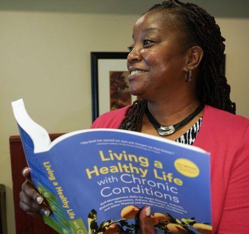 LaDana with Chronic Disease book