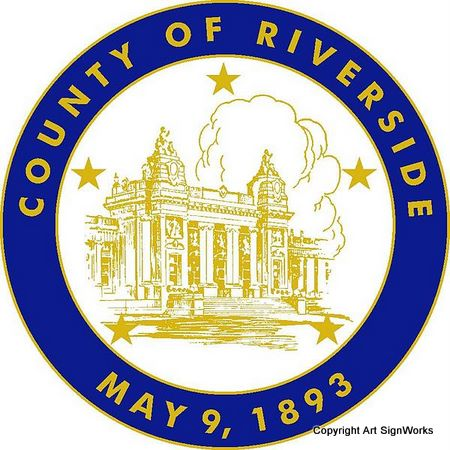 X33377 - Seal of Riverside County, California