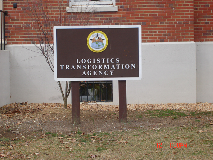 Logistics Agency Sign