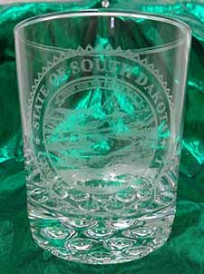 State Seal Whiskey Glass