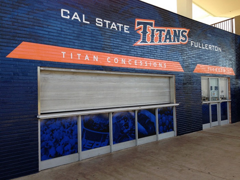 Vinyl wall wraps great for schools and gyms in Orange County