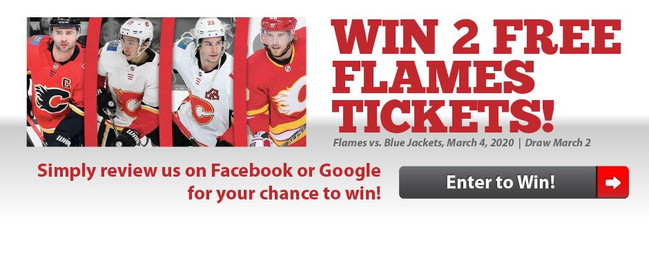 Win 2 Flames Tickets