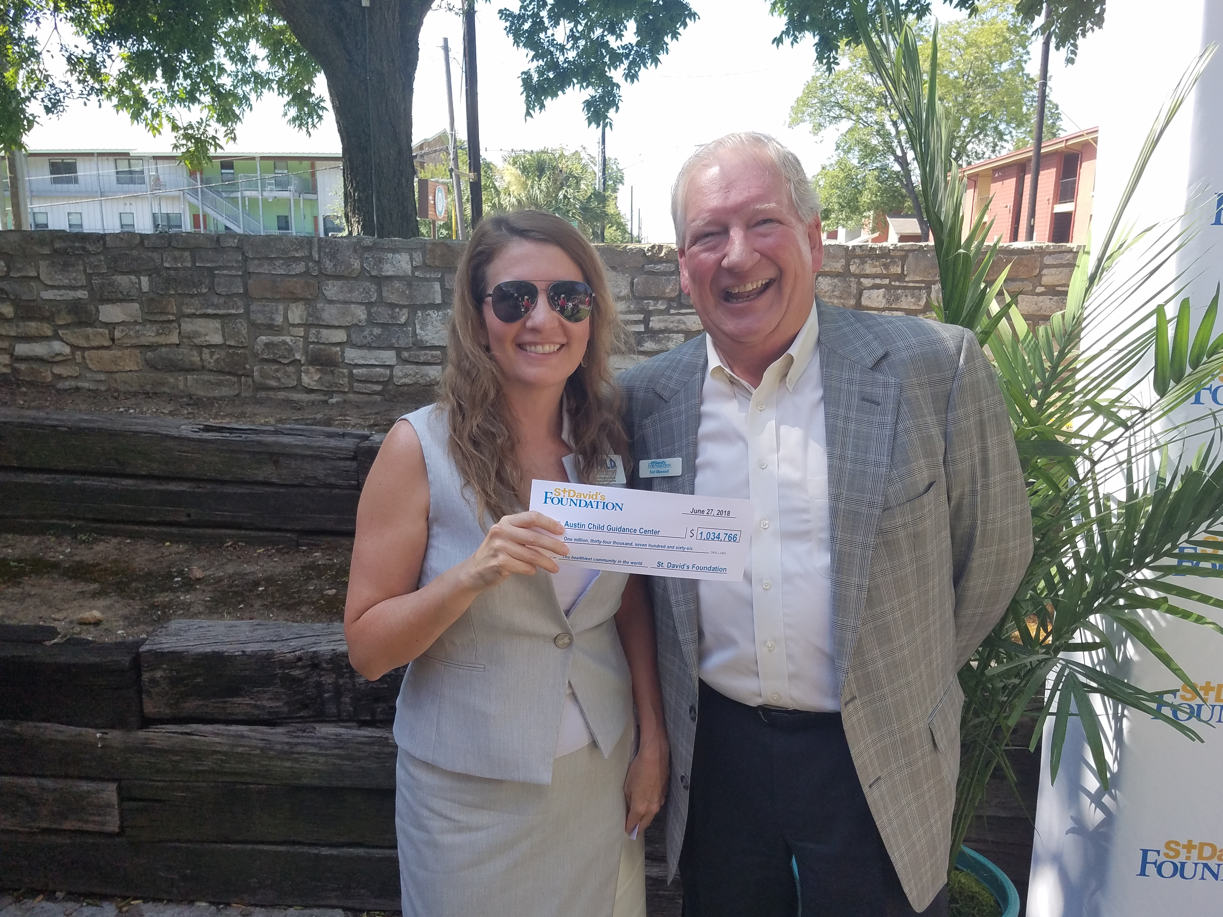 ACGC Receives Grant From St. David's Foundation
