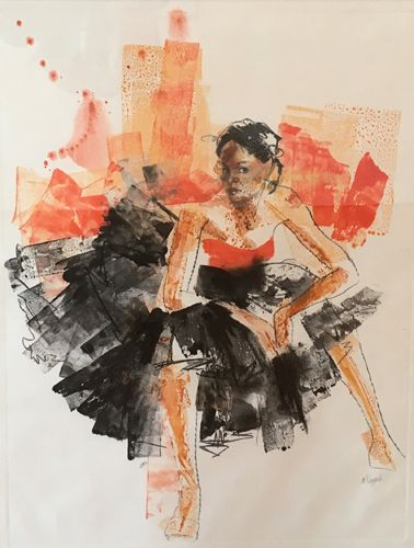 """Best in Show - """"Seated Dancer"""""""