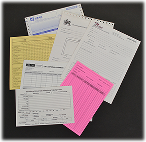 Business Forms - Continuous & Unit Set