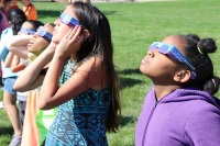 CCSD Community Comes Together for Solar Eclipse