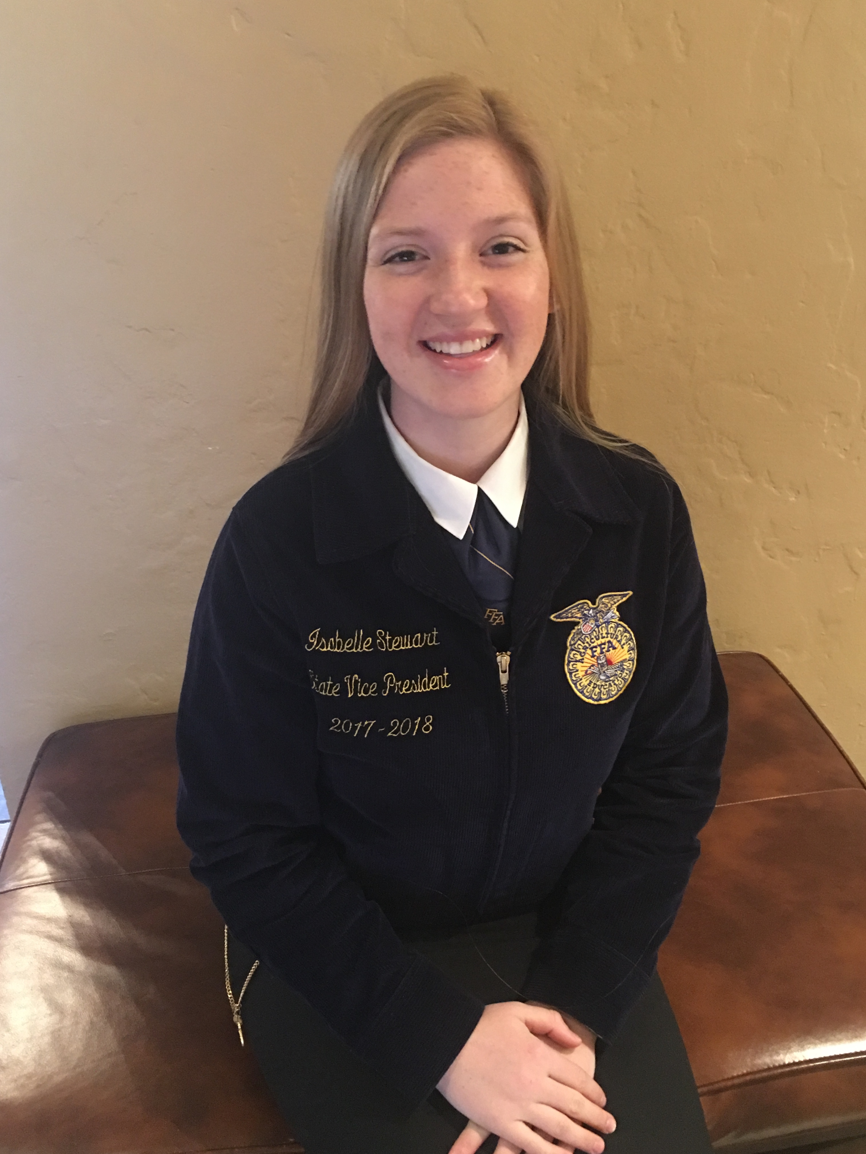 Meet Your 2017-18 State Officer: Isabelle Stewart