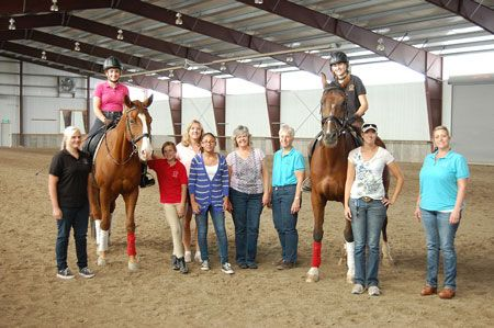 Utah Dressage Society Receives Michael Poulin Fund Grant for Junior/Young Rider Clinic