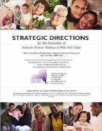 Strategic Directions for the Prevention of Intimate Partner Violence in New York State