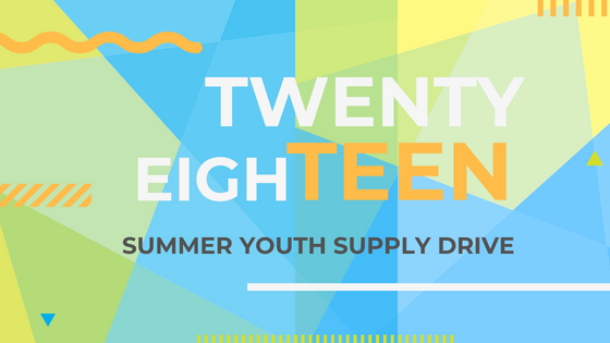 Summer youth supply drive