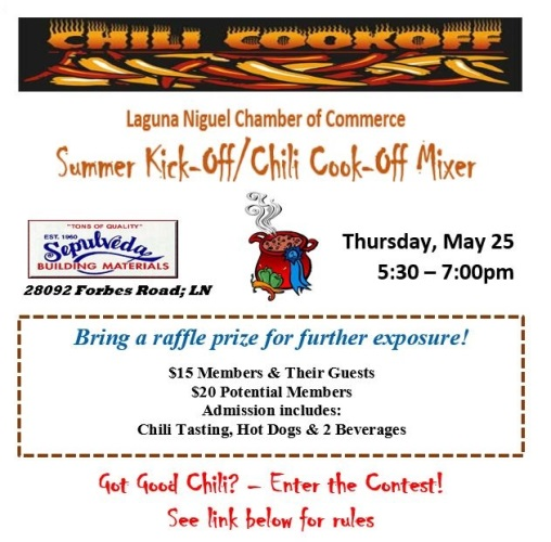 After-Hours Chili Cook-Off Mixer